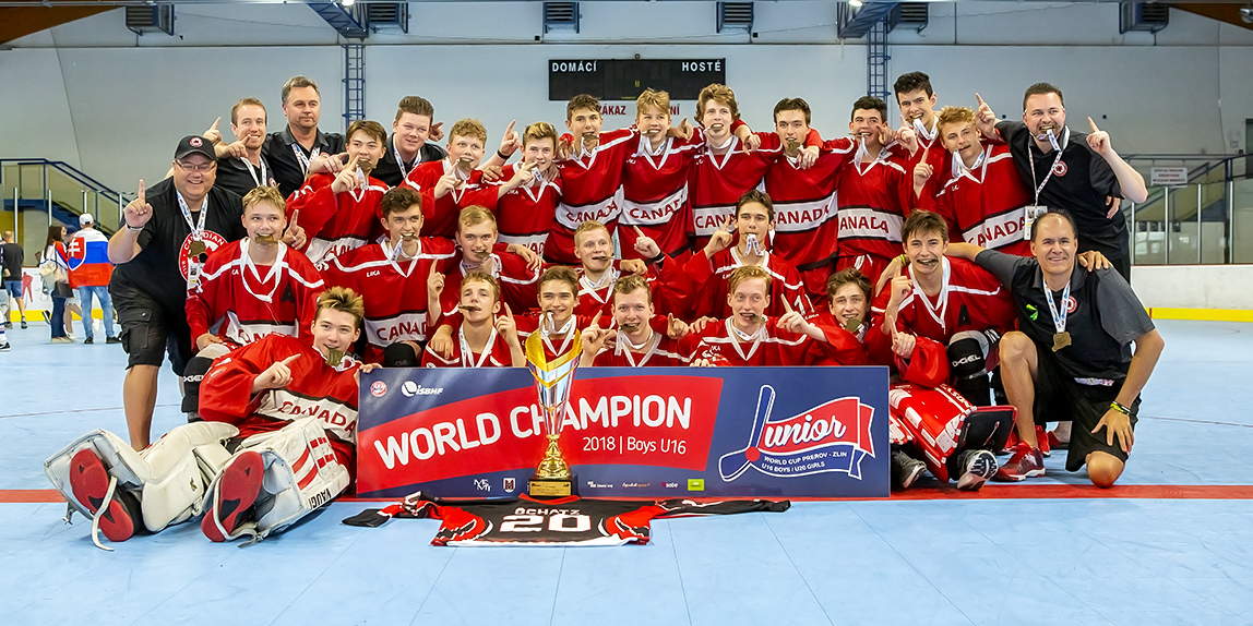 Hokejbal: 28.06-01.07.18 Junior World Cup U 16 Boys – Zlín