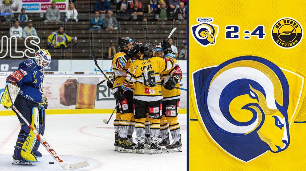 Hokej: 10.09.21 PSG Berani Zlín – HC Verva Litvínov 1.kolo